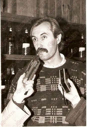 Belov nel 1990 in un'intervista a Pesaro