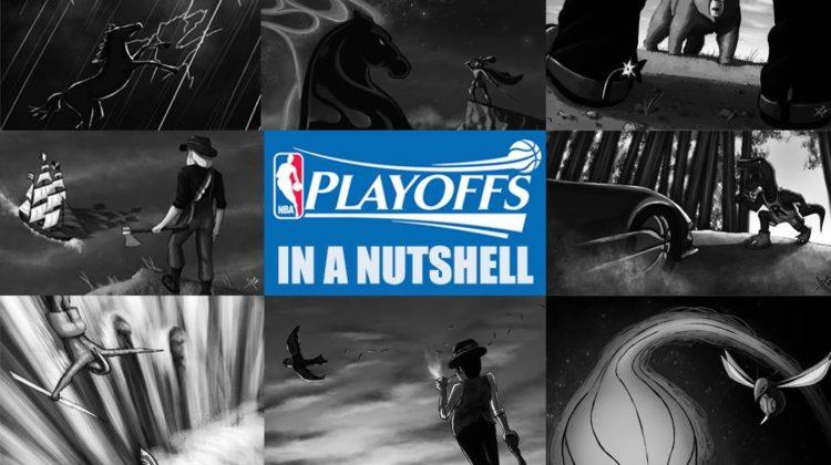 copertina nba playoffs