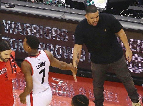 Sul 2-2 Lowry ha dato la mano a Drake. Sappiamo tutti come è andata finire.