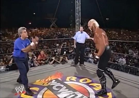 La WCW, un posto fatato a metà strada tra la realtà e l'editor di wrestler nei videogiochi.