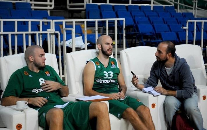 Ginobili intervista i fratelli Calathes